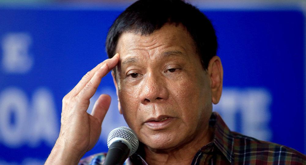 Rodrigo Duterte, presidente de Filipinas