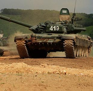 Tanques T-72 de las FFAA de Rusia