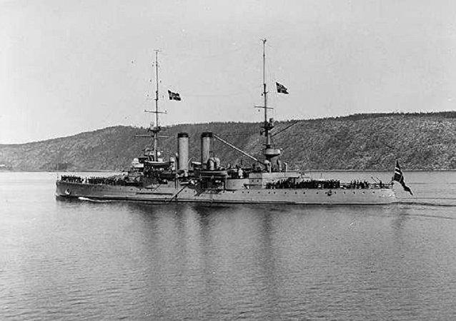 El buque de guerra noruego Norge