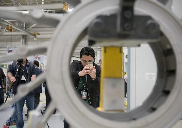 La planta Saturn del conglomerado Rostec, especializda en la fabricación de motores