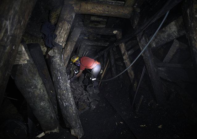Minero colombiano (imagen referencial)