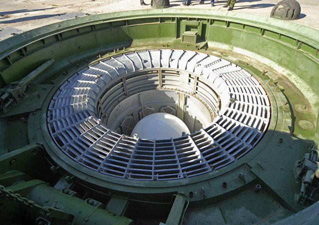 Missil Sarmat en silo