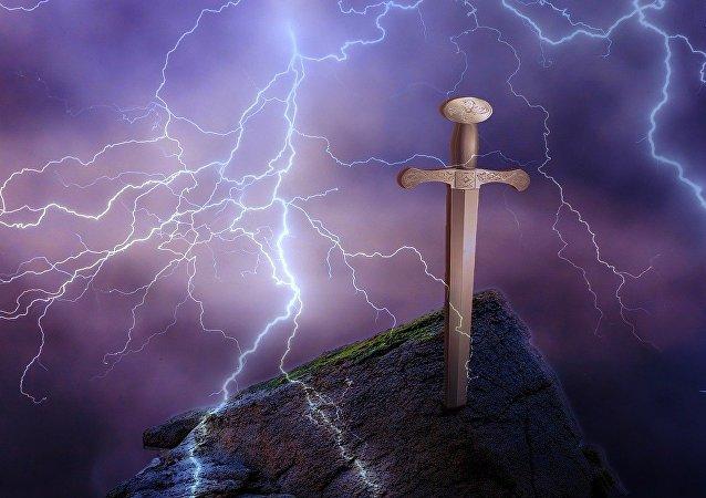 La mítica Excálibur (imagen referencial)
