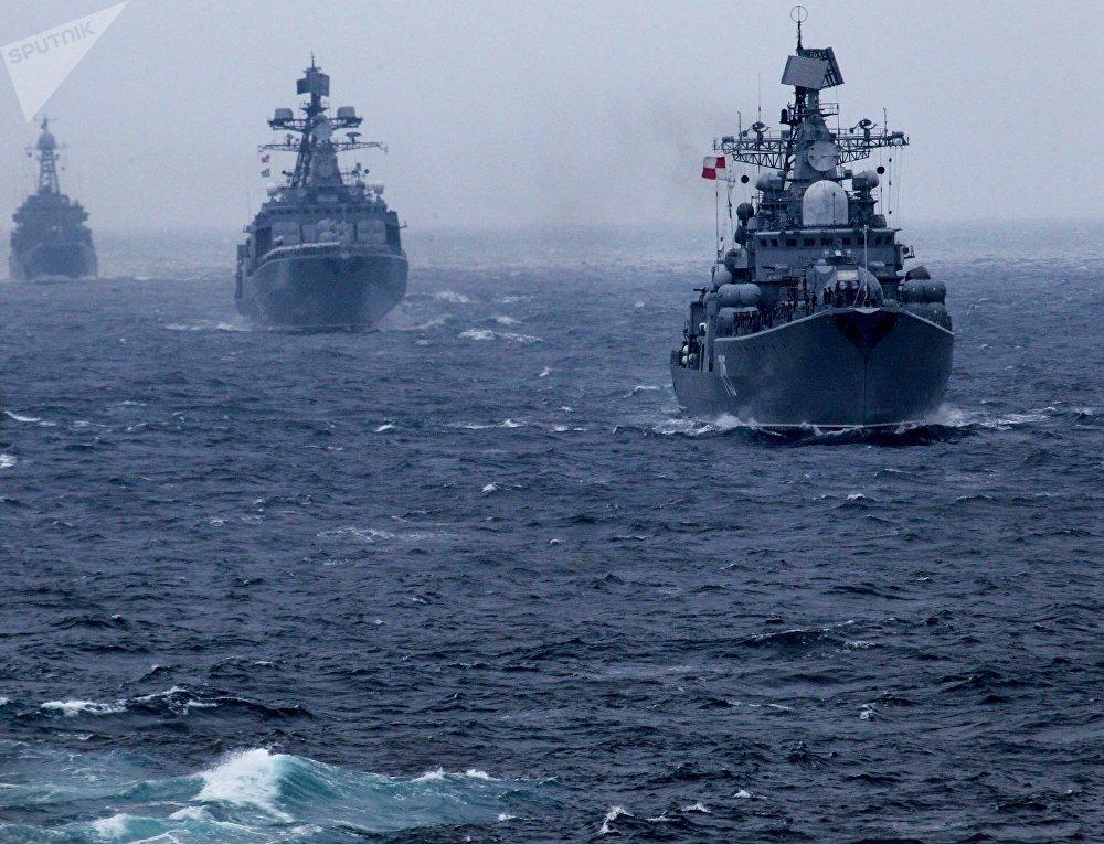 La Flota del Pacífico de la Armada de Rusia