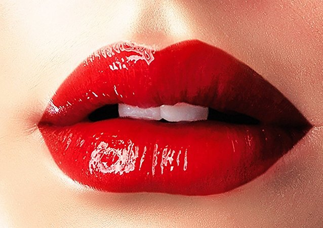 Labios femeninos (archivo)