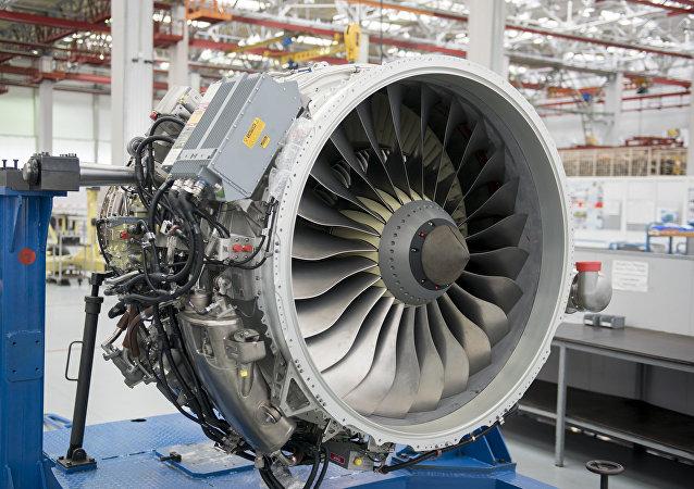 El motor SaM-146 en la planta Saturn (imagen ilustrativa)