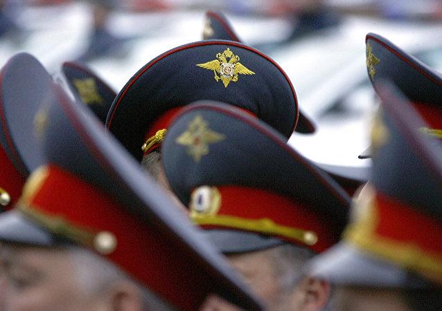 Policía de Moscú (imagen referencial)