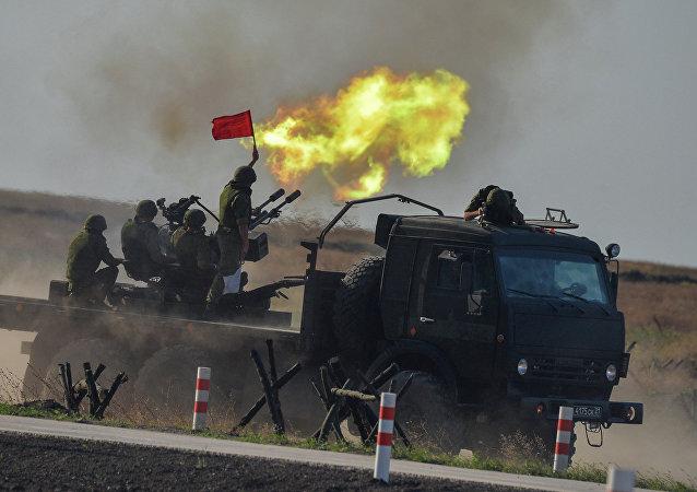 Juegos Militares Internacionales Army Games 2015 (archivo)