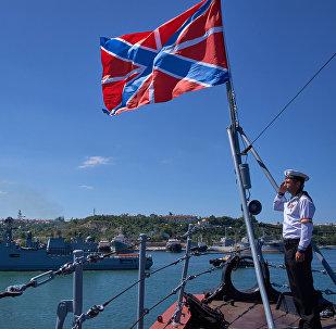 La fragata rusa Almirante Essen (imagen referencial)