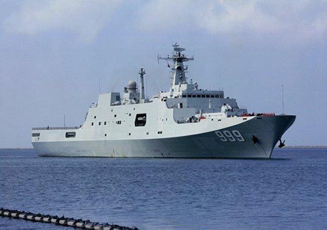 La fragata rusa Almirante Grigorovich en el Mediterráneo (archivo)