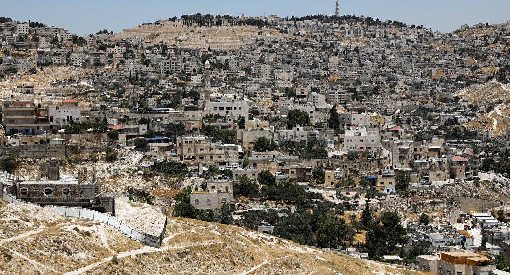 Jerusalén Este, territorio disputado por Israel y Palestina