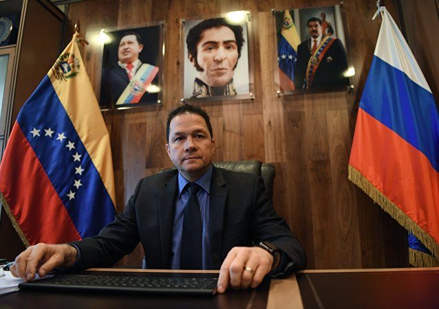 El embajador de Venezuela en Rusia, Carlos Faría