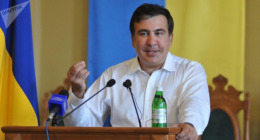 Mijaíl Saakashvili, expresidente de Georgia