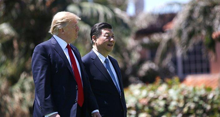 Presidente de EEUU, Donald Trump, y presidente de China, Xi Jinping