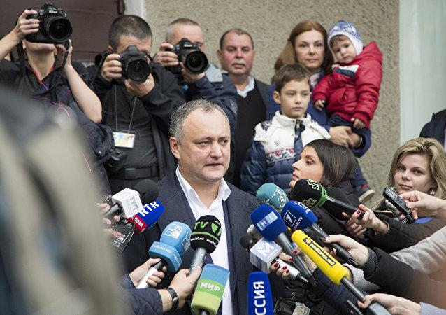 Igor Dodon, presidente electo de Moldavia