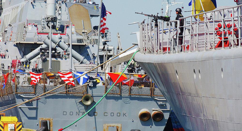 Las maniobras conjuntas entre Ucrania y EEUU, Sea Breeze (archivo)