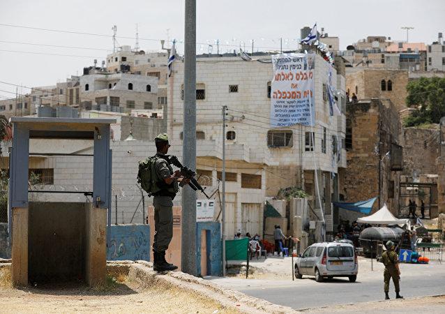 El territorio disputado por Israel y Palestina (archivo)