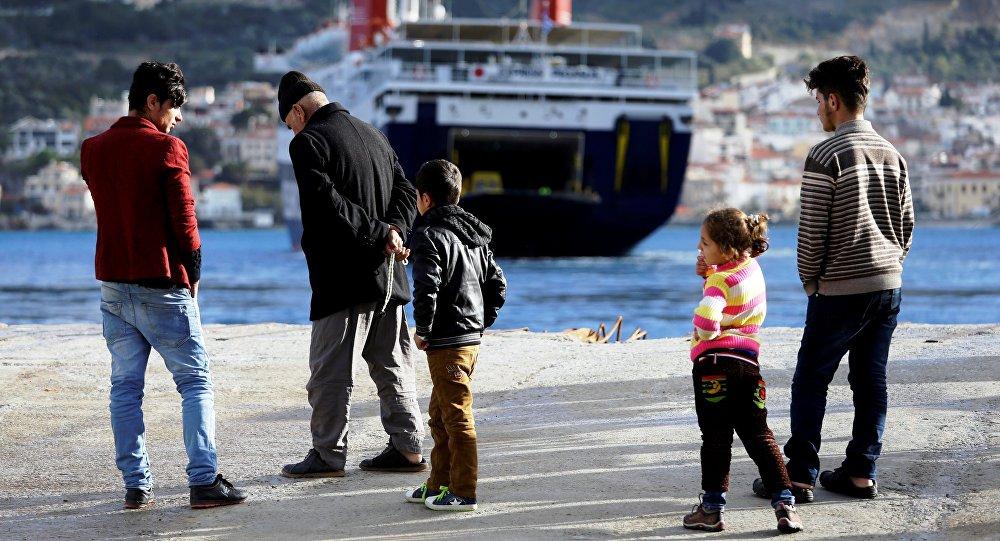 Inmigrantes en las costas del mar Mediterráneo (archivo)