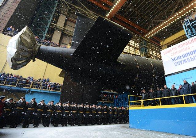 El submarino nuclear ruso Kazan
