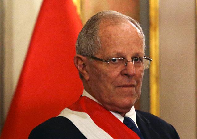 Pedro Pablo Kuczynski, presidente de Perú