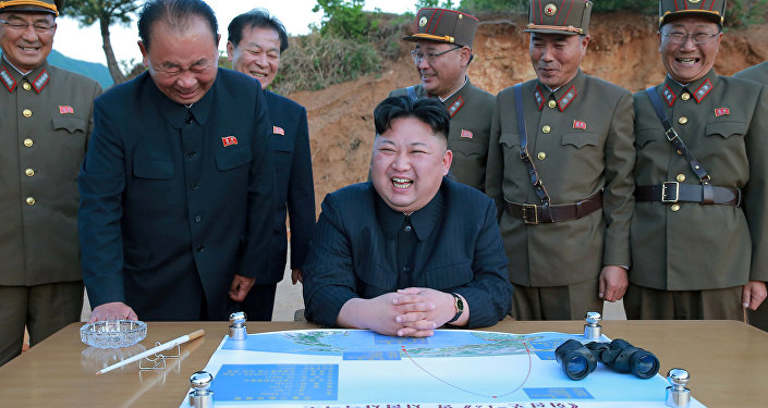 Kim Jong-un, líder da Coréia do Norte (arquivo)