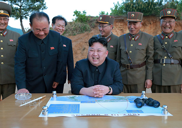Kim Jong-un, líder de Corea del Norte (archivo)
