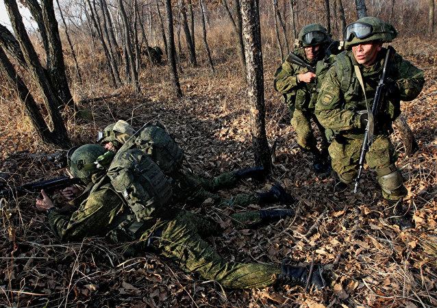 Las maniobras antiterroristas del Ejército ruso en 2015