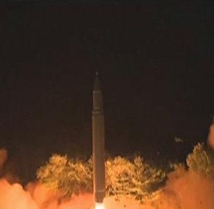 Así fue el último ensayo del misil intercontinental norcoreano