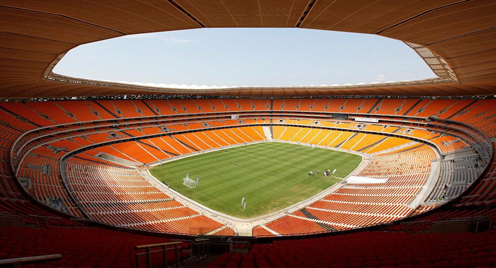 El estadio FNB en Johannesburgo, Sudáfrica