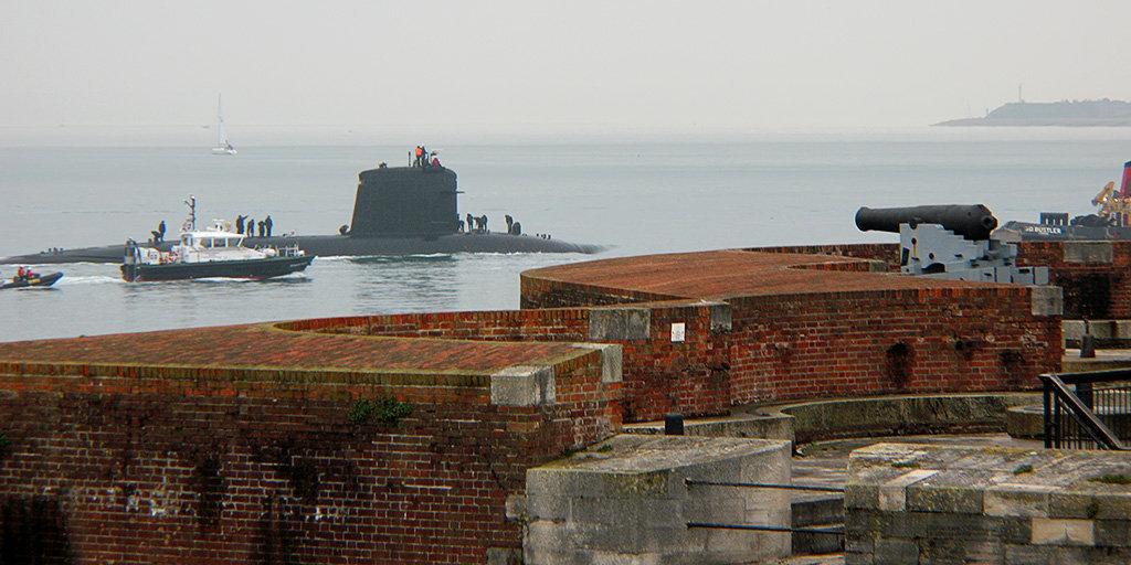 Un submarino de la clase Rubis