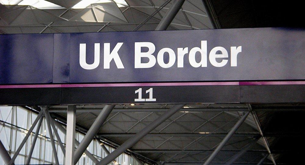 Frontera de Gran Bretaña
