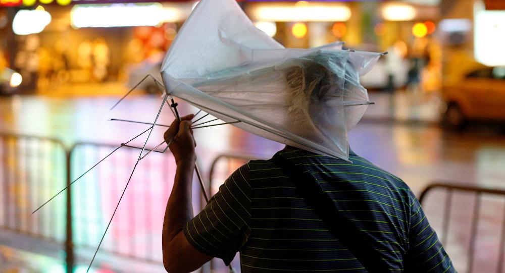 Tifón Nesat en Taiwán