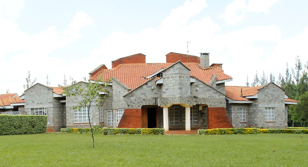La residencia rural del vicepresidente de Kenia, William Ruto
