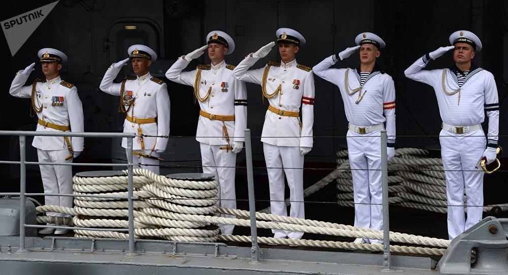 La celebración del Día de la Armada de Rusia en Vladivostok
