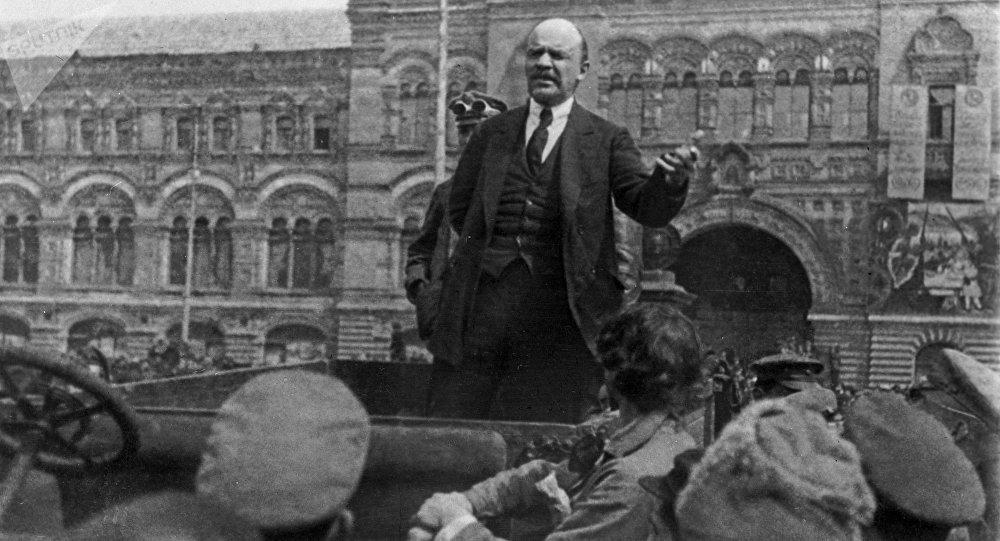 Vladímir Lenin, principal dirigente de la Revolución de Octubre de 1917