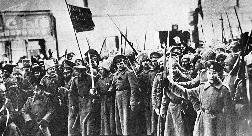 La revolución de febrero de 1917 en Petrogrado