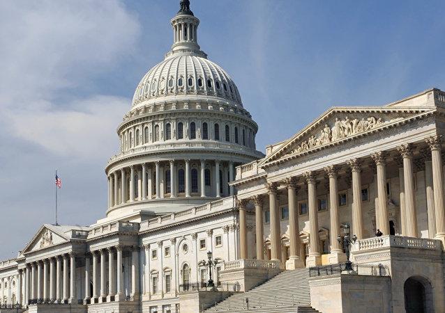 El edificio del Congreso de EEUU