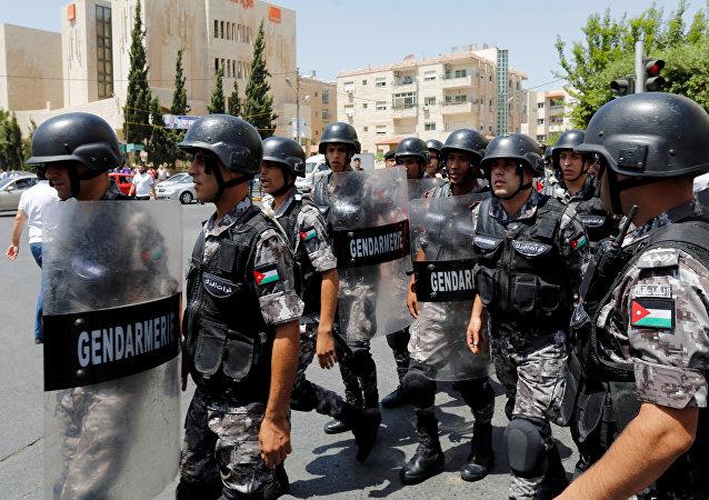 Policía jordana