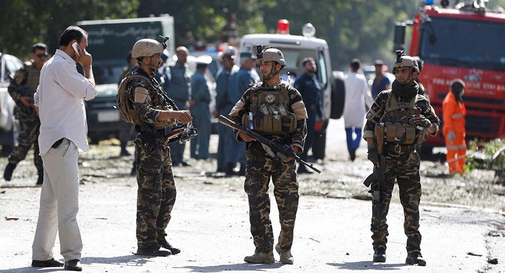 El ISIS ataca la embajada de Irak en Kabul — Afganistán