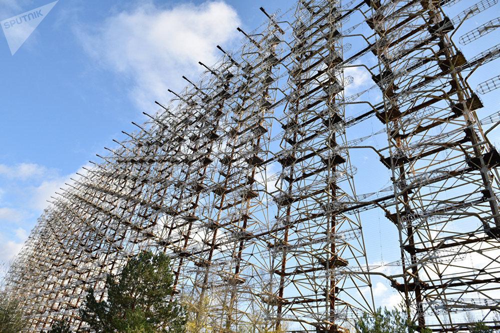 Las estación de radar Dugá en Chernóbil