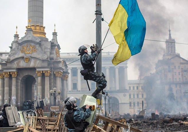 Situación en Kiev en 2014 (archivo)