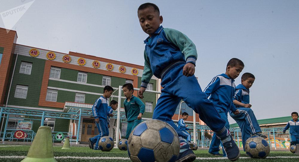 Niños norcoreanos (imagen referencial)