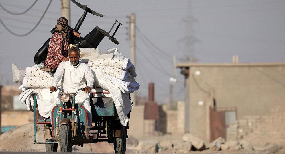 Desplazados sirios (archivo)