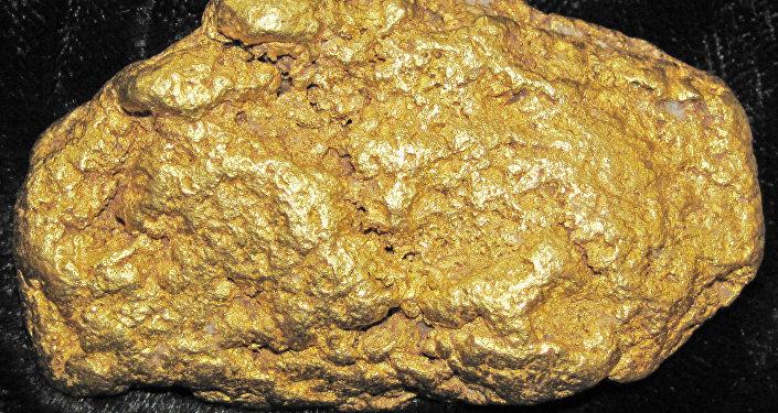 Una pepita de oro (imagen referencial)