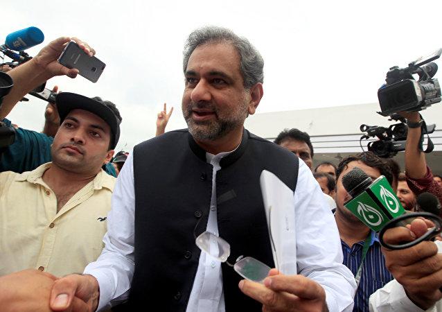 Shahid Abbasi, el nuevo primer ministro de Pakistán