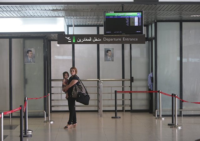 Aeropuerto de Damasco (archivo)