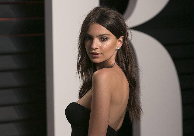Emily Ratajkowski, modelo y actriz estadounidense