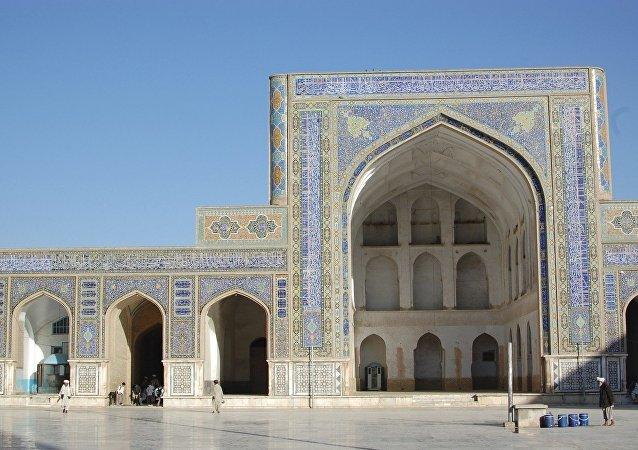Mezquita del Viernes de Herat (imagen referencial)