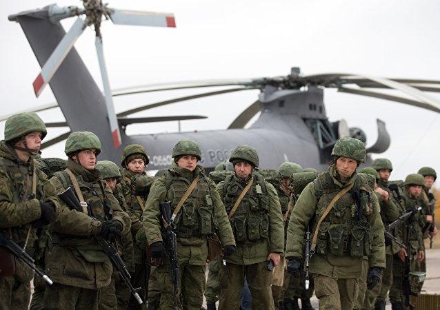 Entrenamientos de de las Fuerzas Aerotransportadas rusas