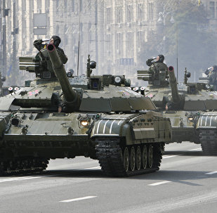 Desfile militar en Ucrania 2008